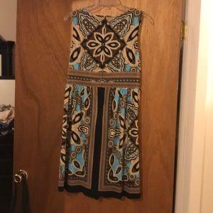 Perceptions Dresses - 3 for $15 🦋🦋— Patterned dress